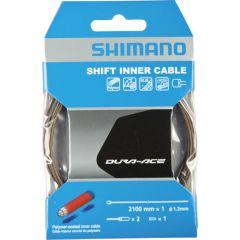 SHIMANO SCHALTINNENZUG MTB/ROAD POLYMER 1.2MMX2100MM MIT E