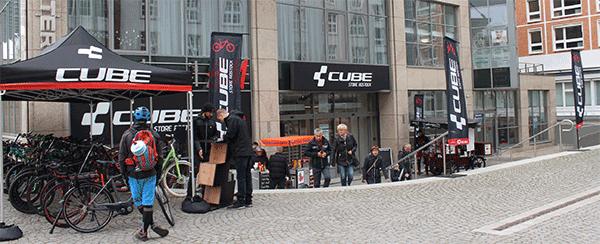 Eröffnung CUBE Store Rostock