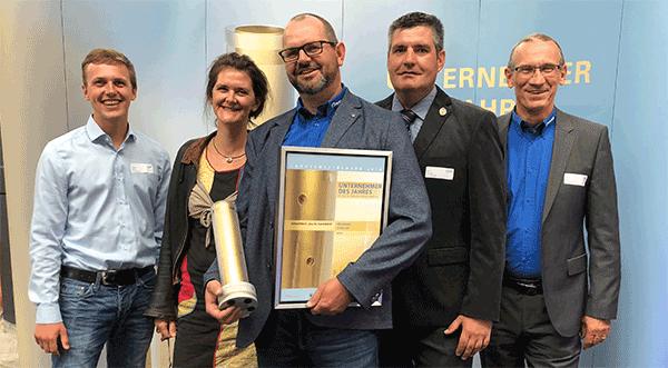 Jörg Bänder Unternehmer des Jahres 2018