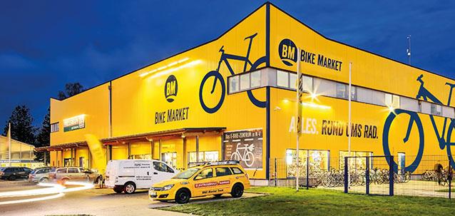 Hauptgeschäft BIKE Market Rostock